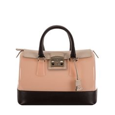 FURLA CANDY - Aug 2014 - Satchel Magnolia, Maple View all http://www.furla.com/en/eshop/candy-satchel_733004.html