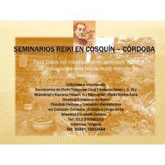 Seminarios de Reiki http://cosquin.anunico.com.ar/aviso-de/terapias_masajes/seminarios_de_reiki-8083050.html