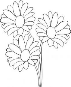 how to draw daisies step 5