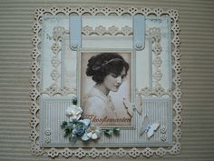 Berits Hobbyblogg: Konfirmasjon Frame, Home Decor, Picture Frame, A Frame, Interior Design, Frames, Home Interior Design, Home Decoration, Decoration Home
