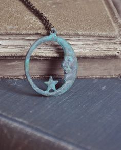 bohemian night sky necklace. by bellehibou on Etsy