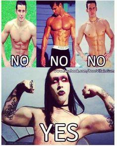 Marilyn Manson....yummies!!!!