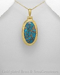 Vines of Jewels - Glamorous Natural Turquoise Gold Overlay Necklace , $74.00 (http://www.vinesofjewels.com/products/glamorous-natural-turquoise-gold-overlay-necklace.html)