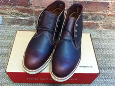 Red Wing Chukkas - these boots have got me through winter. Sturdy and comfortable, they also look really nice. Sold out in a lot of places now after the sales but you can pick up a pair at American Classics in Covent Garden. £159