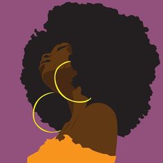 Afro Cartoon Curls – About Hair Art Black Love, Black Girl Art, Pop Art Girl, Black Art Painting, Black Artwork, Afro Painting, Black Girl Aesthetic, Aesthetic Art, Cartoon Kunst
