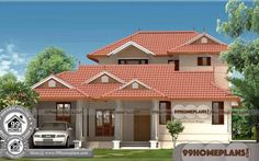 Home Design with Vastu Shastra Small 2 Storey Homes Plans Online 30x40 House Plans, Four Bedroom House Plans, Modern House Plans, Small House Plans, Indian House Exterior Design, Indian Home Design, House Plans With Pictures, House Design Pictures, House Elevation
