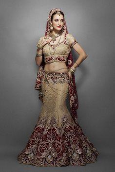 Stunning Indian wedding dress
