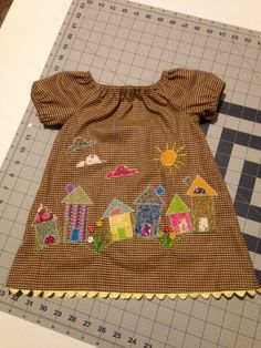 Plum Pudding Peasant Dress