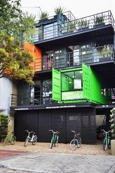 Creating homes out of storage containers is a great way to save on resources making it a sustainable home.