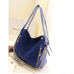 New S Faux Leather Handbag Shoulder Bag Tote