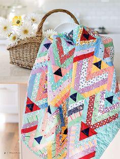 - Garden Chevrons Quilt Kit