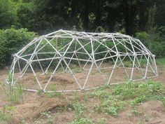 Index of Geodesic Tunnel Domes - by Zip Tie Domes