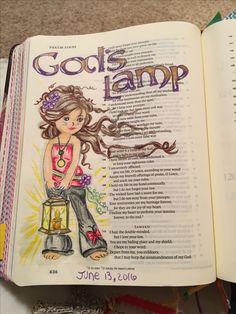 Psalm 119:105, Bible Journaling Scripture Art, Bible Art, Book Art, Bible Verses, Faith Bible, My Bible, Bibel Journal, Bible Doodling, Bible Images