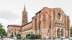 Basilique Saint-Sernin de Toulouse, about 1080 and Byzantine Architecture, Romanesque Architecture, Roman Architecture, Religious Architecture, Rochester Cathedral, Ely Cathedral, Saint Sernin, Architecture Romane, Ribbed Vault