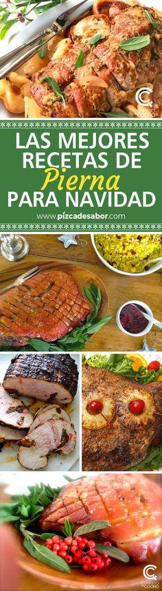 Las mejores recetas de pierna para Navidad - Employ Tutorial and Ideas Authentic Mexican Recipes, Special Occasion, Grilling, Pork, Food And Drink, Cooking Recipes, Tasty, Beef, Meals