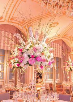 Photographer: A Day of Bliss; Wedding reception centerpiece idea