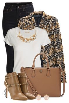 Bez naslova #2217 by martina-cciv on Polyvore featuring polyvore, fashion, style, American Vintage, Haider Ackermann, VILA, Valentino, Tory Burch, The Limited and Kenneth Jay Lane
