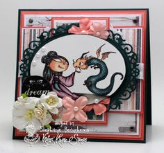 A World of Creative Possibilities: Kraftin' Kimmie Stamps : It's a wonderful wednesday!