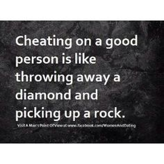 cheating (brings out the worst in people, what do you expect)