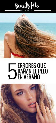 Revisa tu rutina capilar con estos tips! Hair Tips, Hair Care, Trending Hairstyles, Summer Vacations, Routine, Hair