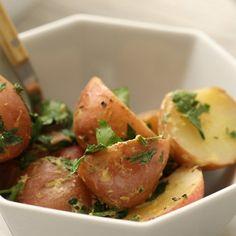 Dijon Potato Salad with Fresh Parsley