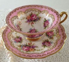 E Brain Foley China Tea Cup & Saucer