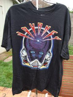 Vintage 1983 Journey Frontiers black concert rock tee t-shirt Large never worn