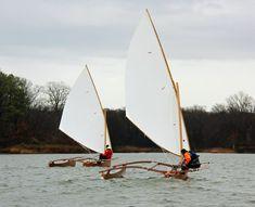 CLC Outrigger Junior First Sail