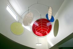 Acrylic Foyer Mobile. Laser cut acrylic mobile for the Burnie Child and Family…
