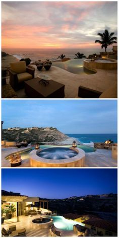 Incredible combination the view the pool and the hot tub.  Villa is in the community of Cabo Colorado Mexico.#NorthAmerica #CaboSanLucaas #DreamVacation