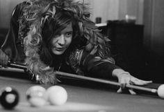 Janis Joplin - Pool anyone  ~Repinned via Marion Miller