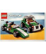 LEGO® Creator 6743 Green Street Speeder Cars, I... - $7.91