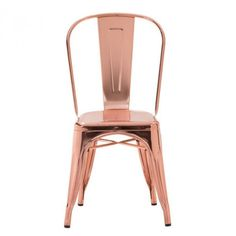 Rose Gold Rochelle Chair - Pair