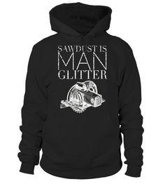 Boys Girls Sawdust is Man Glitter Teen Youth Hoodies Black