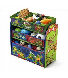 Oferta juguetero de madera Tortugas Ninja. TB84925NT