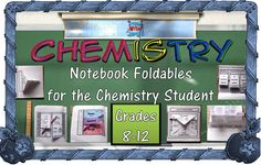 Ever notice that there are foldables made specifically for the elementary and 6-8 levels but few for the High School level. If you teach chemistry, you may wish to continue reading...