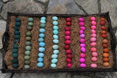 Dying Brown Easter Eggs: Good Call — Emily Paben - Wedding Planner - Event Planner - Central Texas - Waco, TX