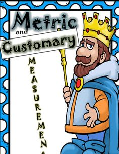 Customary and Metric units of Measurement: including length, weight and capacity.This pack includes:-Games to practice converting units of measure-18 Task Cards-Fill in the Blank charts to be used as reference sheetsand other fun ways to learn and practice with customary and metric units of measure.Have fun teaching and learning! Units Of Measurement, Measurement Activities, Math Activities, Converting Metric Units, Sixth Grade Math, Fourth Grade, Go Math, Math Workshop