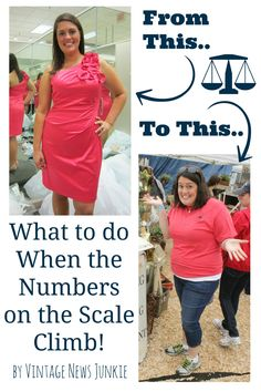 What to do When the Numbers on the Scale Climb by Vintage News Junkie