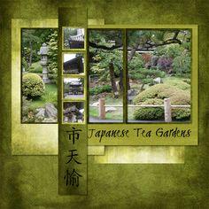 Layout: Japanese Tea Gardens