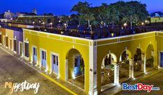 Catalogada como un hotel de lujo, la Hacienda Puerta Campeche está conformada por un conjunto de antiguas casas del siglo XVII renovadas meticulosamente para brindarte en la actualidad una probadita del sureste mexicano de aquella época combinada con servicios de vanguardia. Tienen una excelente ubicación justo en el centro histórico de Campeche, así como una singular arquitectura colonial, lo que la vuelve una opción de hospedaje difícil de resistir. #MyBestDay