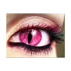 demon eye/black butler Anime shows and other ❤ liked on Polyvore featuring beauty products, eyes, makeup, cool eyes and supernatural
