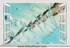 3D Earth The Bahamas window wall sticker art decal IDCCH-LS-000970
