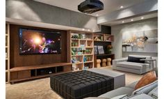 Sala de tv aconchegante