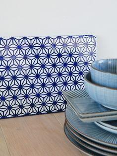 Kaluri Lavastone board blue-white - wannahaves - I/OBJECT