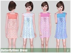 Dress 007 by YOYO *Pay - Sims 3 Downloads CC Caboodle