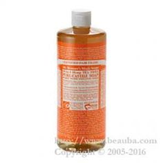 http://www.beauba.com/products/detail.php?product_id=6198 Dr.bronner's Magic Soaps Liquid 944ml Tea Tree. #HairCare #Shampoo  Organic soap spread by word of mouth. It can be used to wash face and body, in addition, to remove makeup. Talked-about mild soap created by blending hemp oil having skin beautifying component with jojoba oil having moisturizing ingredient at fine...