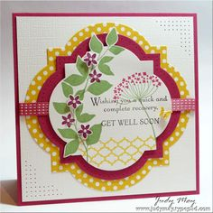 Just Judy Designs : Get Well Wishes