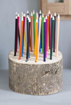 DIY Pen Tray from nature | Make-over by Kim van Rossenberg | episode 5 vtwonen doe-het-zelf