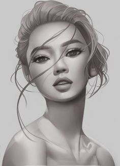Shading/volume study, Tricia Loren on ArtStation at https://www.artstation.com/artwork/em5Vb